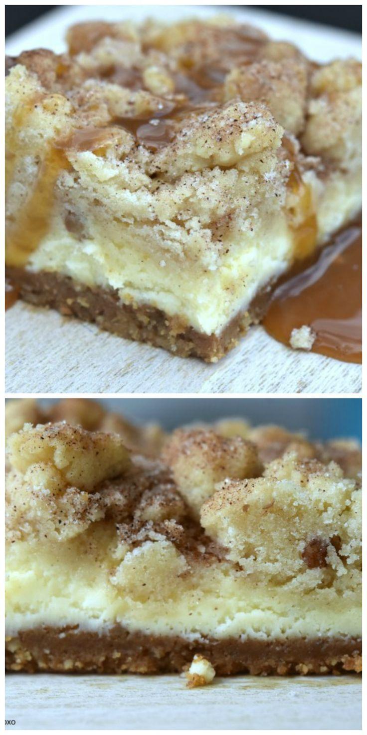 Snickerdoodle Cheesecake Bars   Recipe   Baking ...