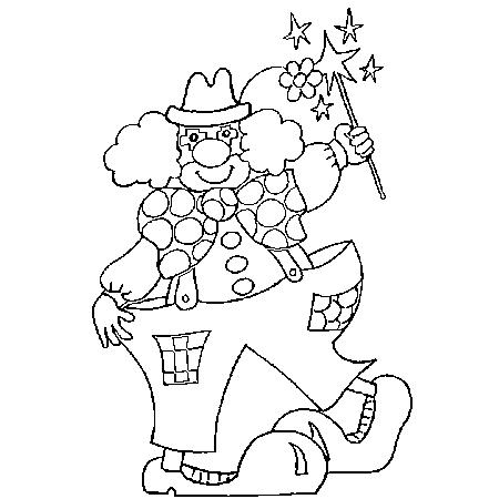 Dessin le clown a colorier dessin colorier et dessin non - Tete de clown a imprimer ...