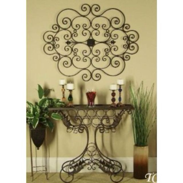I\'m such a huge fan of wrought iron wall decor! | Products I Love ...