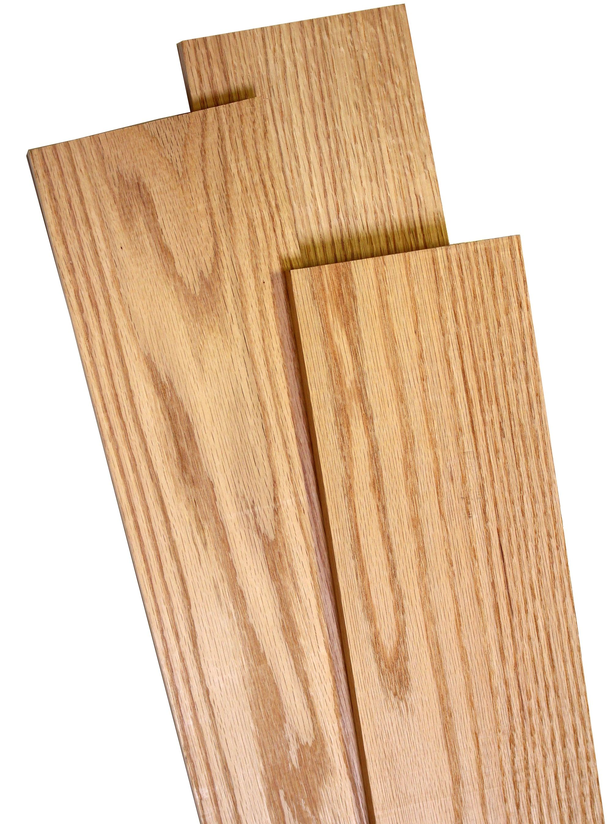 Oak Red Dimensioned Hobby Boards 3 4 X 5 5 X 6 Woodworkers