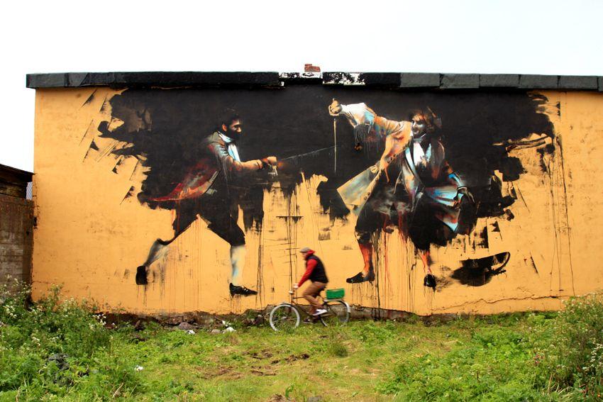 Ireland's Cork-based street artist Conor Harrington