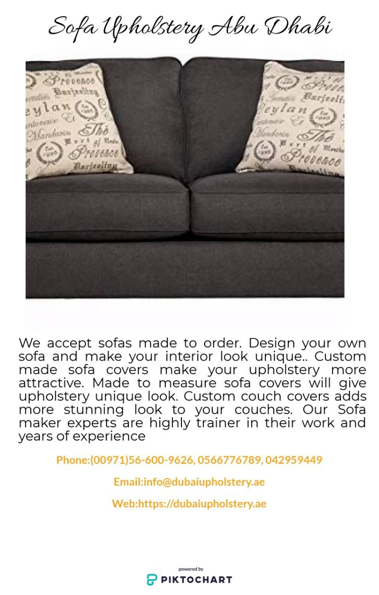 Welcome to Abu Dhabi upholstery. Get the best quality CUSTOM MADE ...