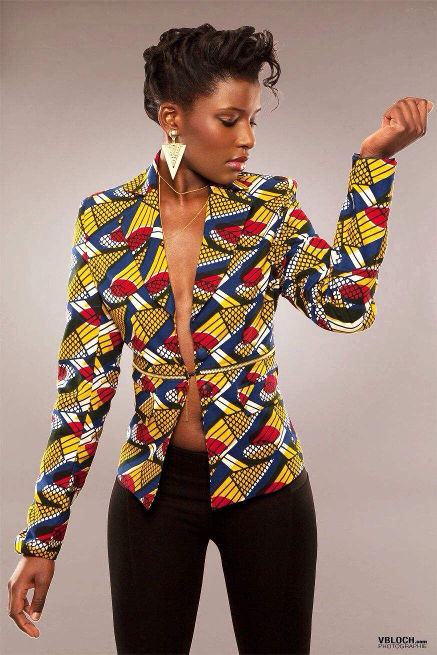 African fashion | Africana | Mode africaine, Veste en ...