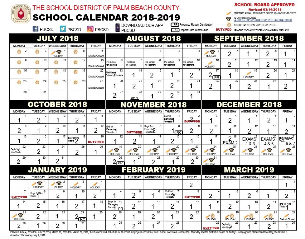 Wake Tech Academic Calendar.Palm Beach County School Calendar You Calendars Drinks In 2019
