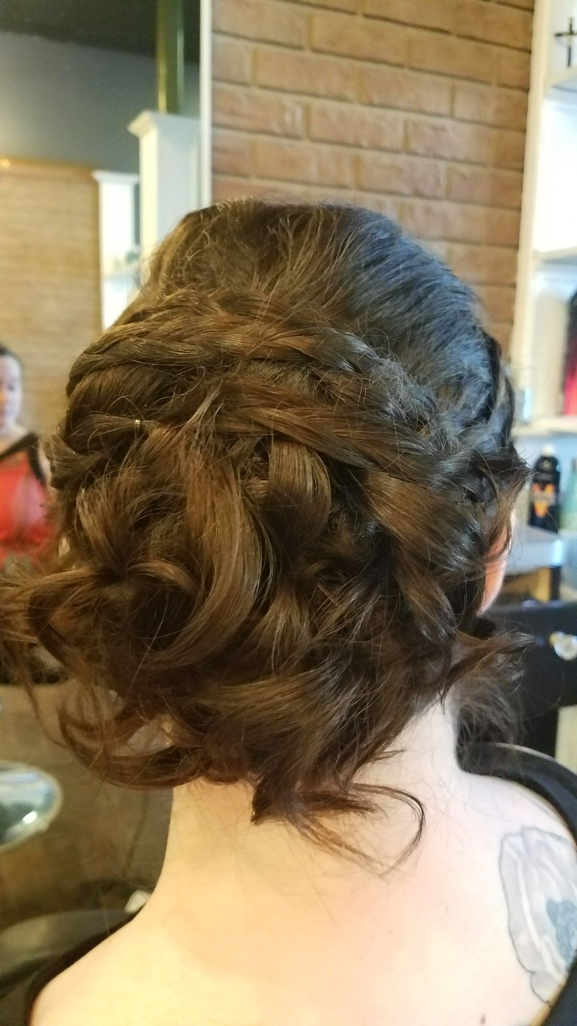 Bridal hair trial at salon bangles in springfieldnj salonbangles
