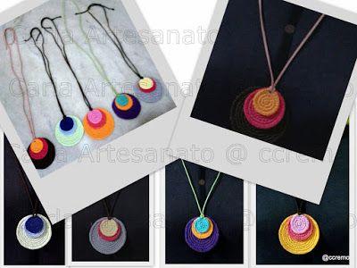 Várias idéias para Bazar, Feiras e afins - crochet