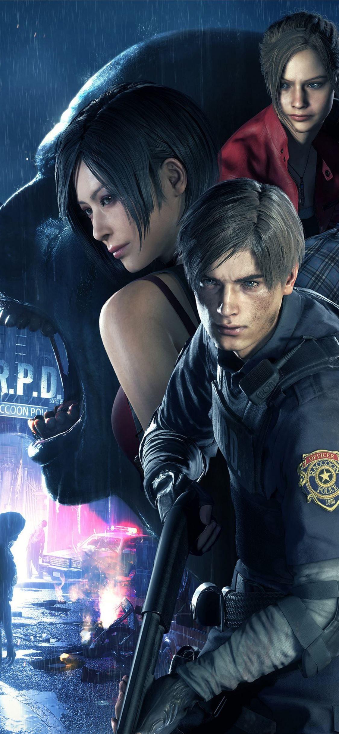 Resident Evil 2 4k Residentevil2 2020games Games 4k Iphone11wallpaper Resident Evil Anime Resident Evil Resident Evil Leon