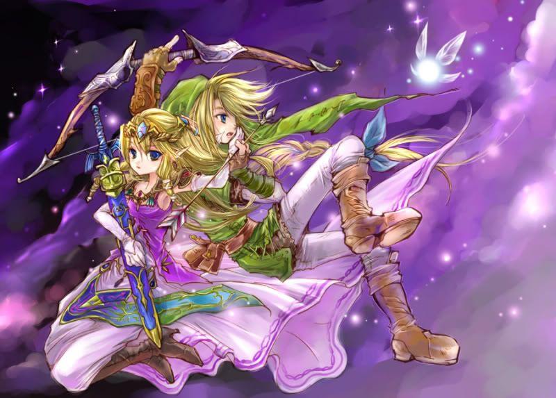images of link zelda links to share this photo - Link Et Zelda