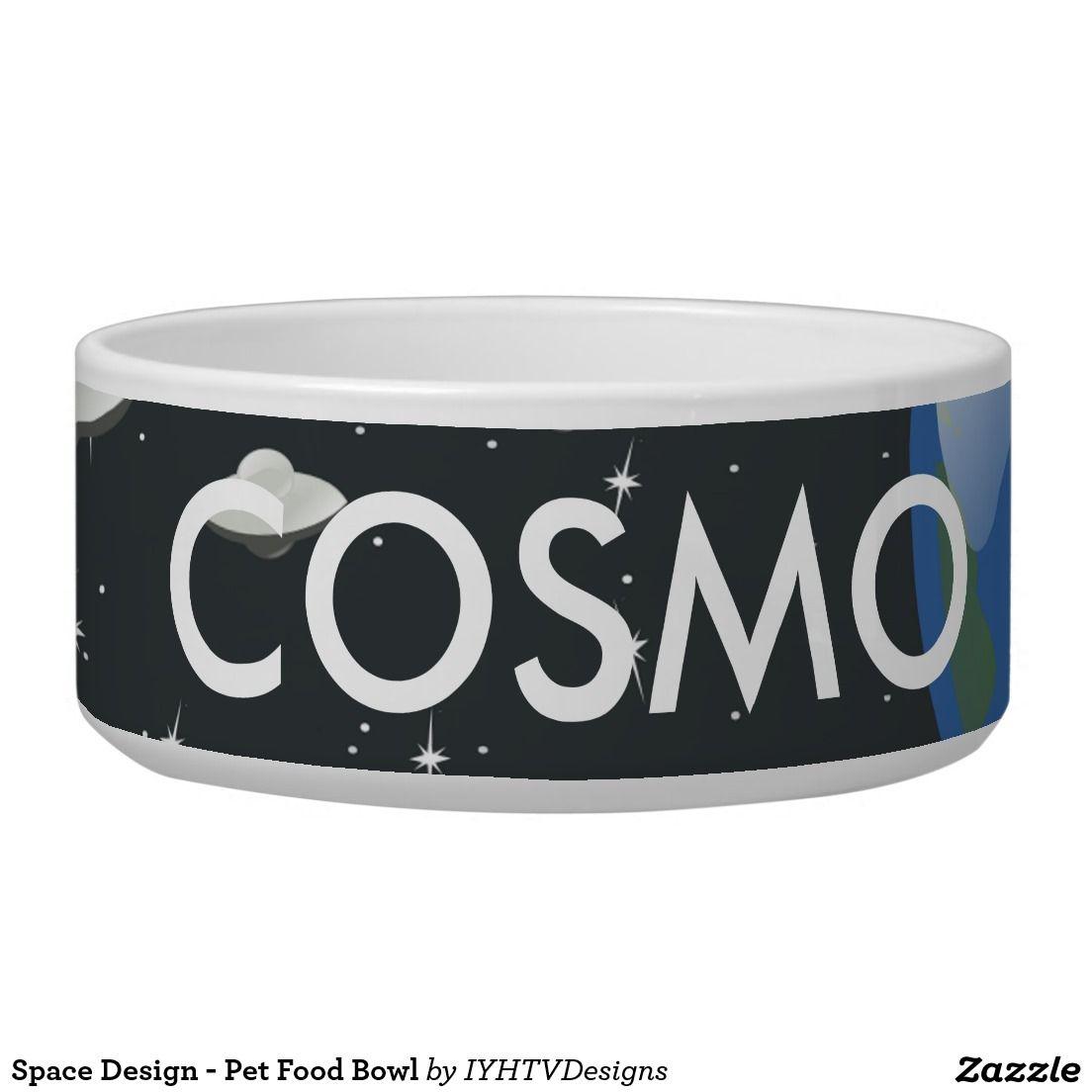 Space Design - Pet Food Bowl