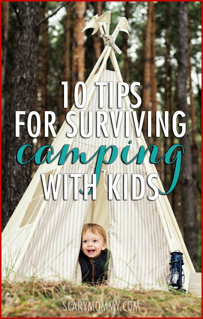 10 Tips For Surviving Camping With Kids | Surviving Summer ...