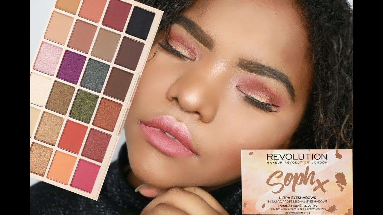 SOPH X MAKEUP REVOLUTION Palette Review + Swatches Макияж