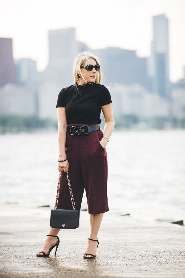 3 Ways To Make Wide Leg Cropped Pants Work For You