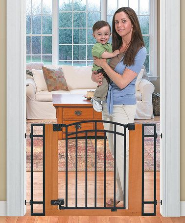 Take A Look At This Pine Walk Thru Gate By Summer Infant On Zulily Today Baby Gates Baby Safety Gate Metal Baby Gate