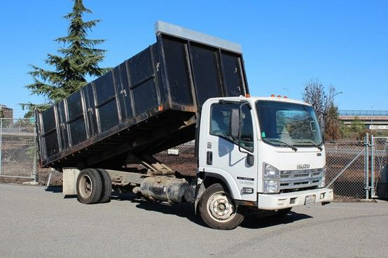 Looking For Used Truck Here Is A 2008 Isuzu Nrr 16ft Dump Truck Monarch Offers Many Different Trucks To Choose From Box V Trucks For Sale Trucks Dump Trucks
