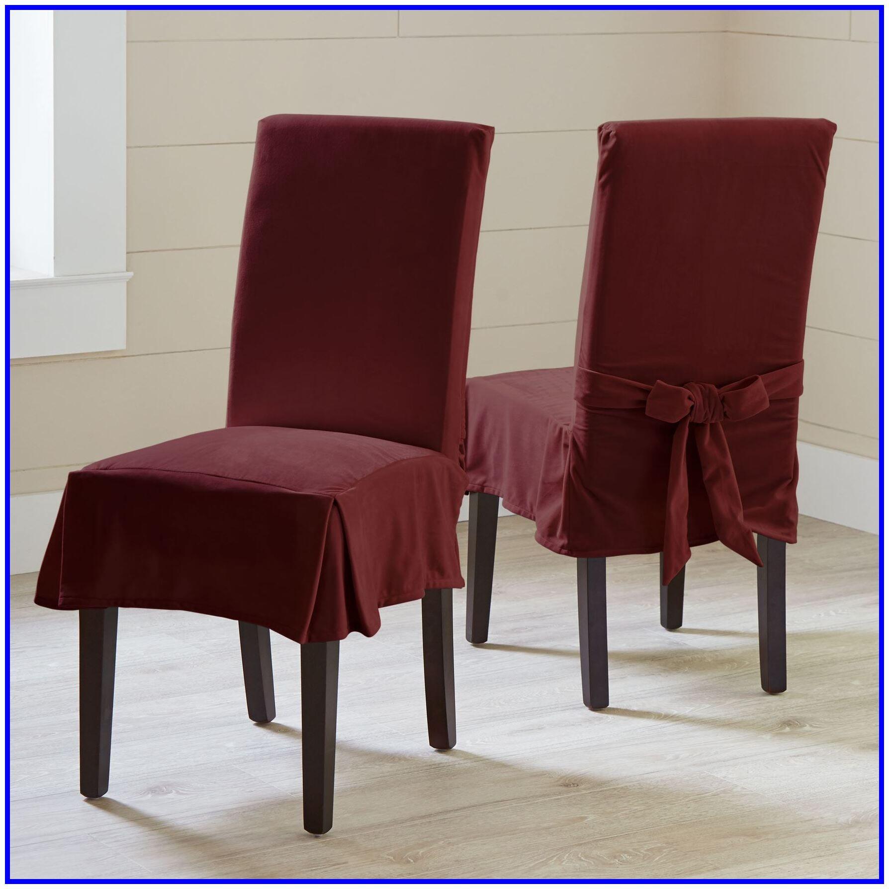 velvet office chair cover