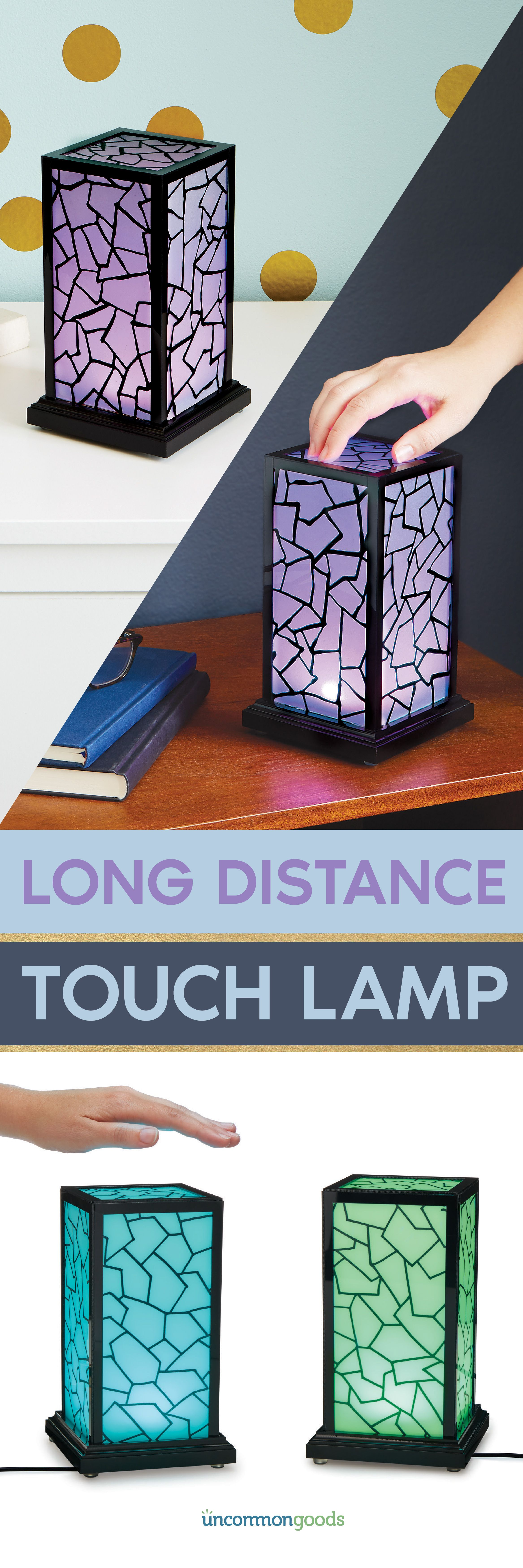 170 For Set Light Up A Loved One S Life Across Town Or Across The Country With These In Sync Lamps Boyfriend Gifts Diy Gifts Friendship Lamps
