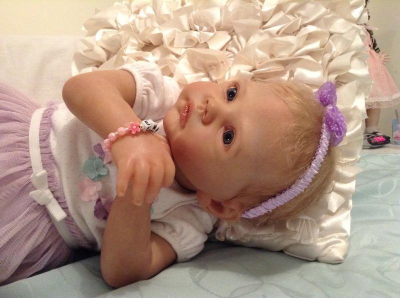 Pretty Reborn Baby Girl 'Rainer' by Romie Strydom