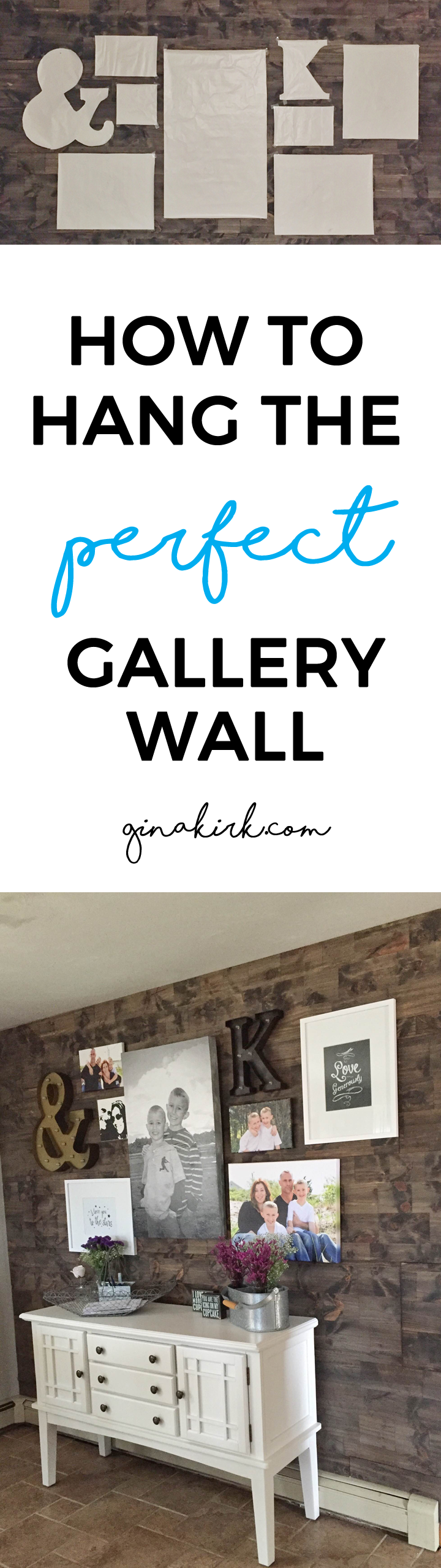 Fixer upper kitchen gallery - How To Hang A Gallery Wall
