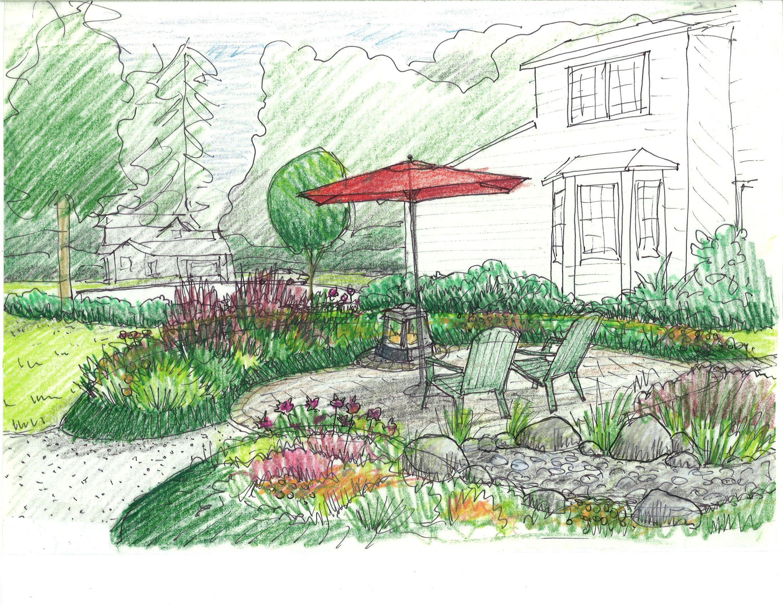 Planting Design 1 Landscape Design Drawings Landscape Design