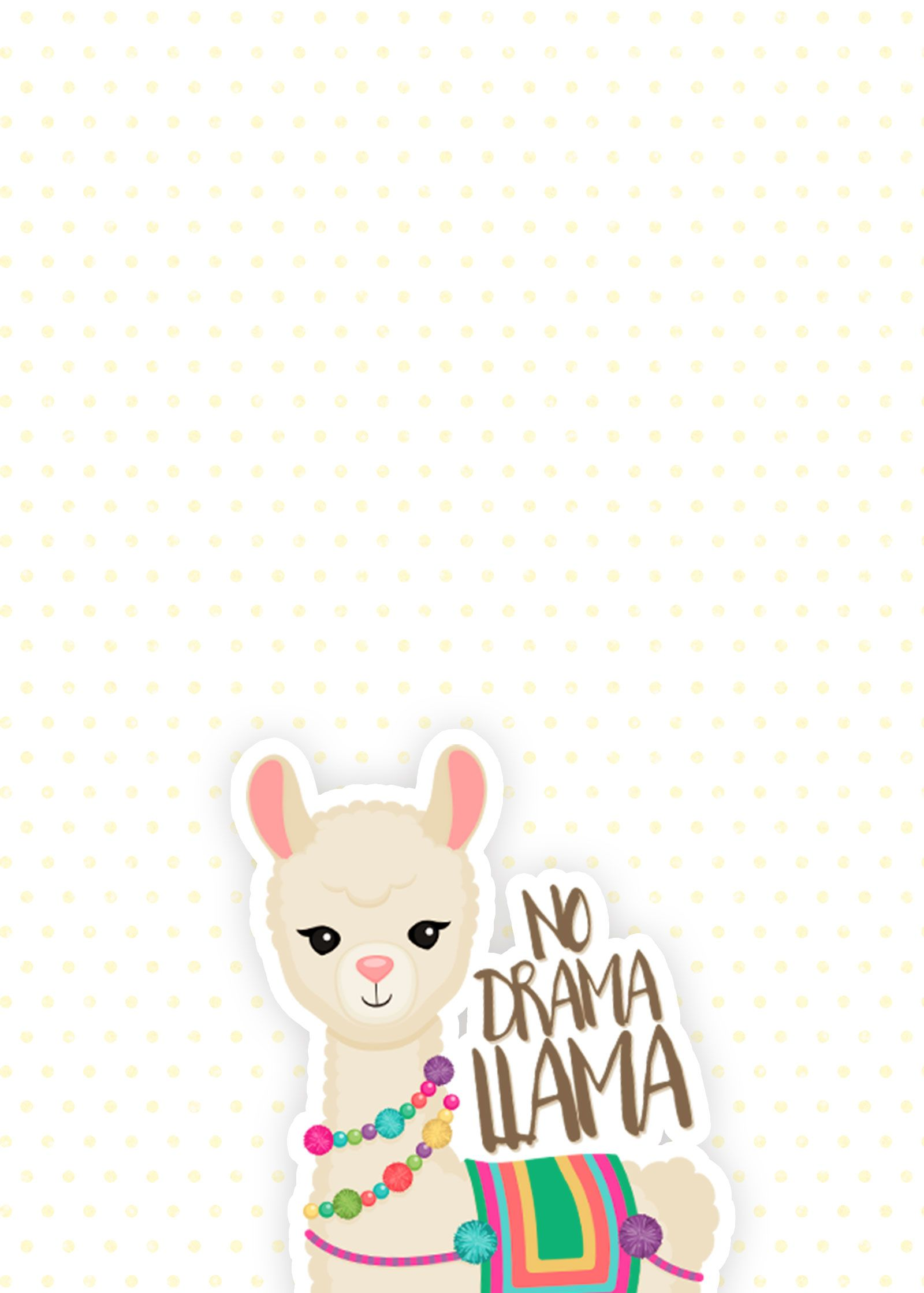 For the Love of Llamas! 10 Cutesy Llama iPhone Wallpapers