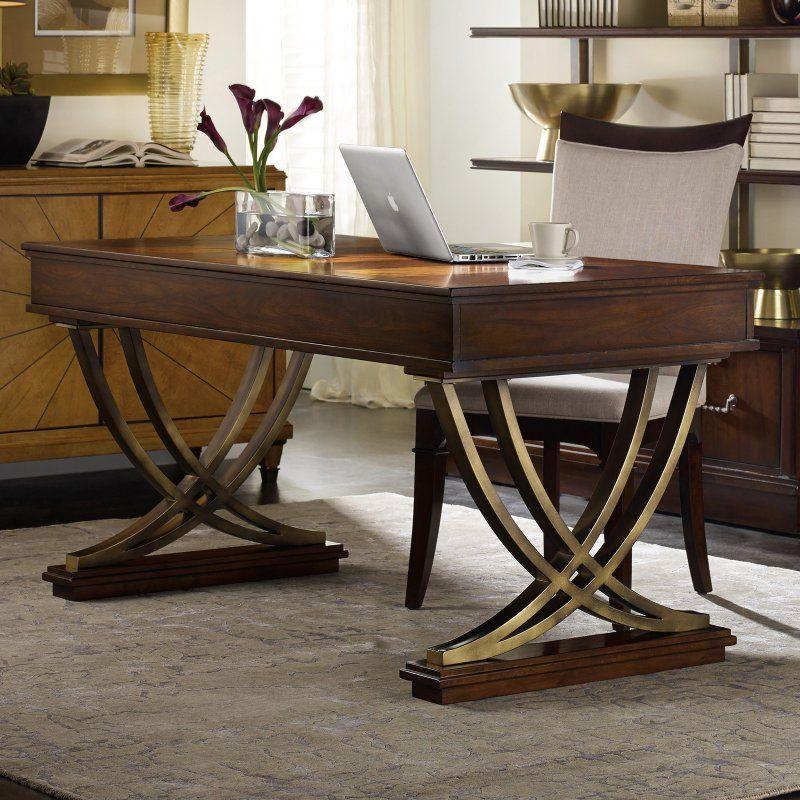 Hooker Furniture Palisade Writing Desk   Brown   5183 10458