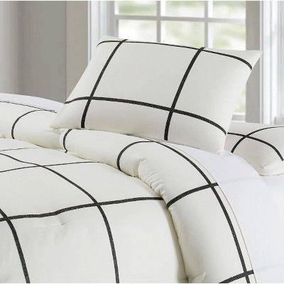 Best Truly Soft Everyday Twin Extra Long Kurt Windowpane 400 x 300