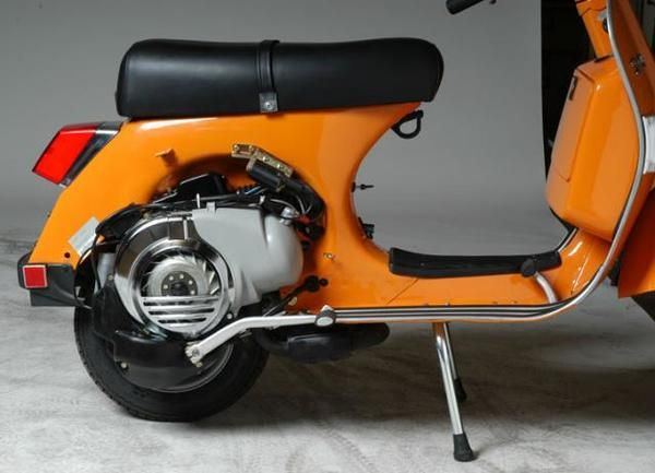 genuine scooter stella 150 2009 | Orange | Pinterest | Vespa