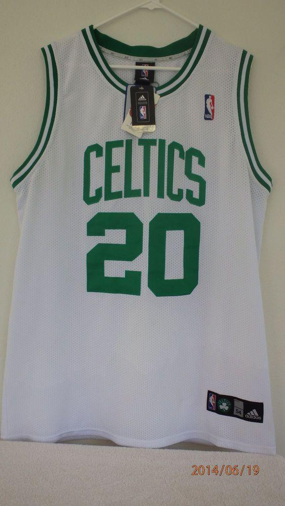 ca9bf5632 Adidas Ray Allen  20 Boston Celtics Authentic Jersey Sewn White-Sz54 2XL  New Tag  adidas  BostonCeltics