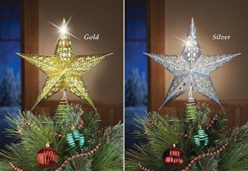 Lighted Christmas Star Tree Toppers Christmas Tree Toppers Unique Christmas Trees Tree Toppers