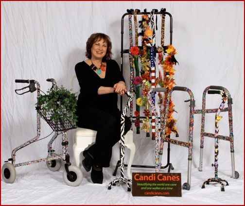 How To Decorate A Cane Bedazzled Cane  Google Search  Halloween  Pinterest