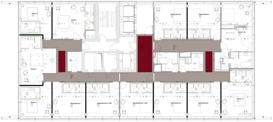Pin von marco nogara auf hotels pinterest for Hotel badezimmer grundriss