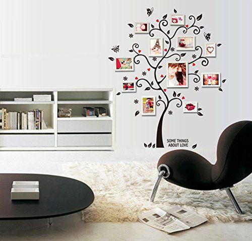 ufengke-Immagine-Creativa-Albero-Photo-Frame-Adesivi-Murali-Camera ...