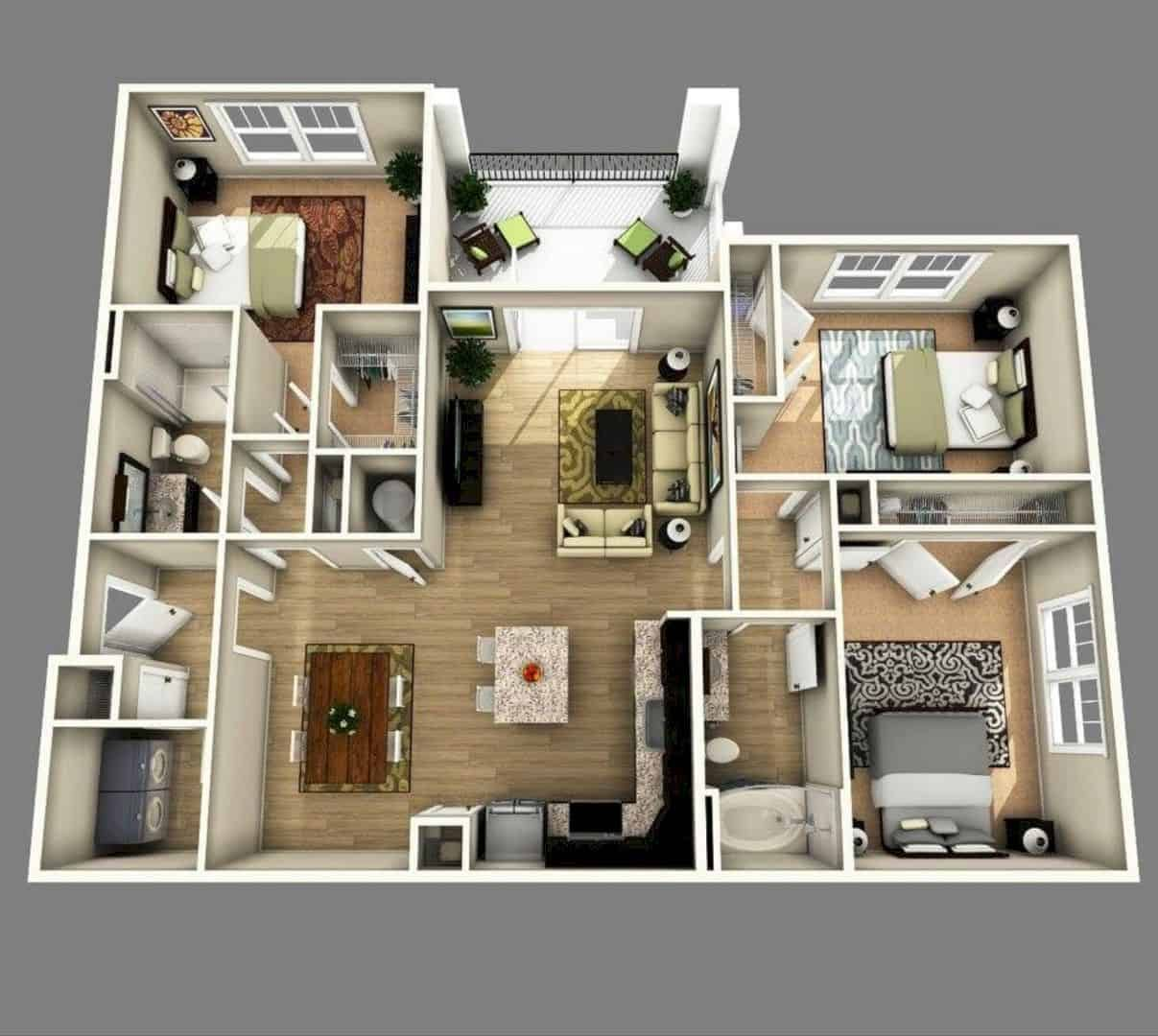Why Do We Need 3d House Plan Before Starting The Project In 2020 Apartment Floor Plans 3d House Plans House Plans