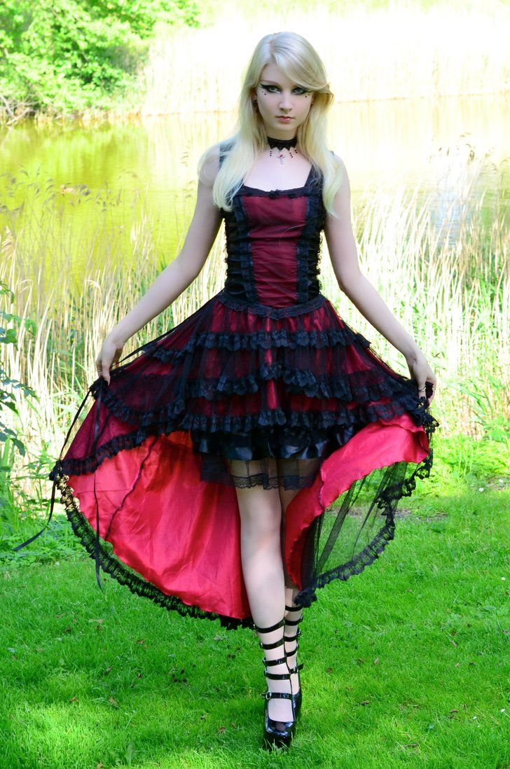 Photographer helle gry schaub dress from the gothic shop stock