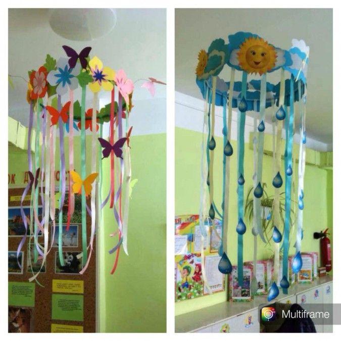 Интерьер детского сада своими руками