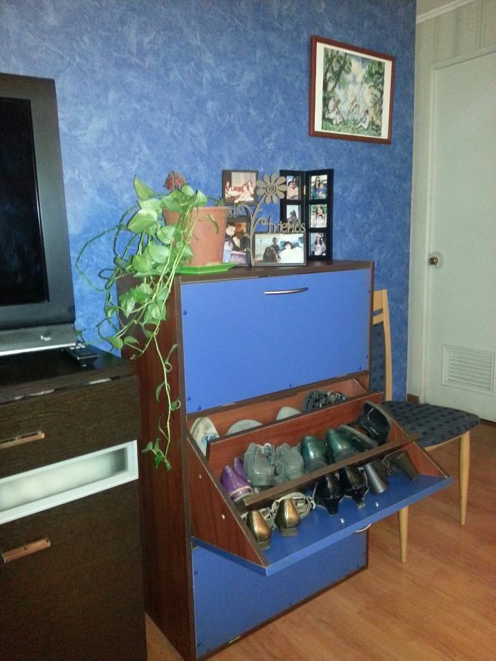 Mi mueble para zapatos caben mas de 30 pares ideas for Zapatero para 30 pares de zapatos
