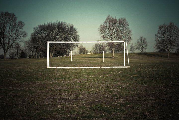 Merrilee Luke-Ebbeler, Soccer Field, Dayton, Ohio, 2010.