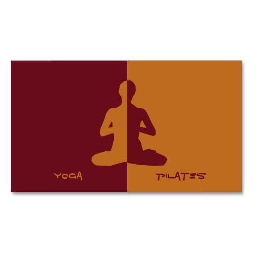 Yoga pilates meditation business card templates yoga business yoga pilates meditation business card templates reheart Choice Image