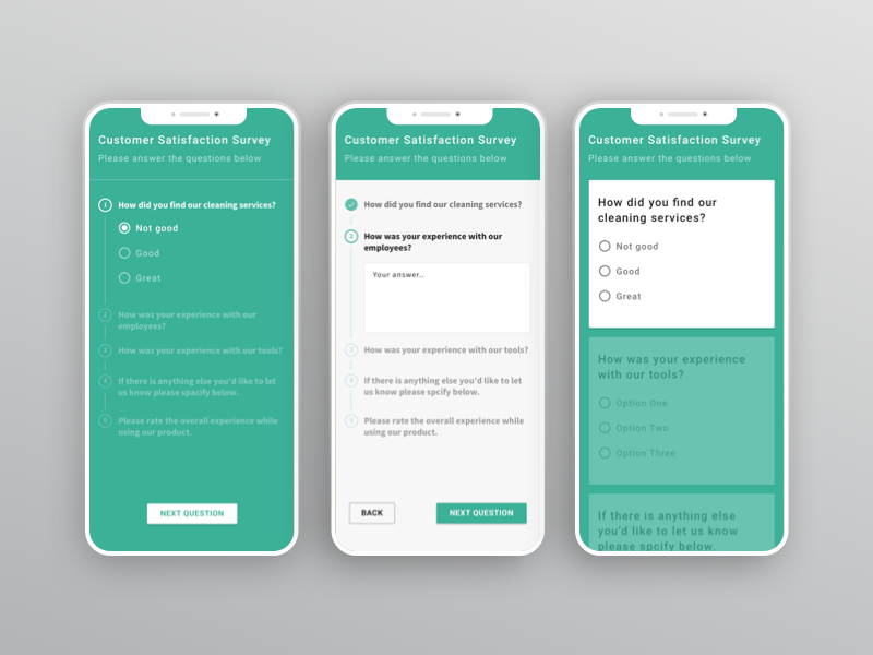 Surveys Survey Design App Design App Design Layout