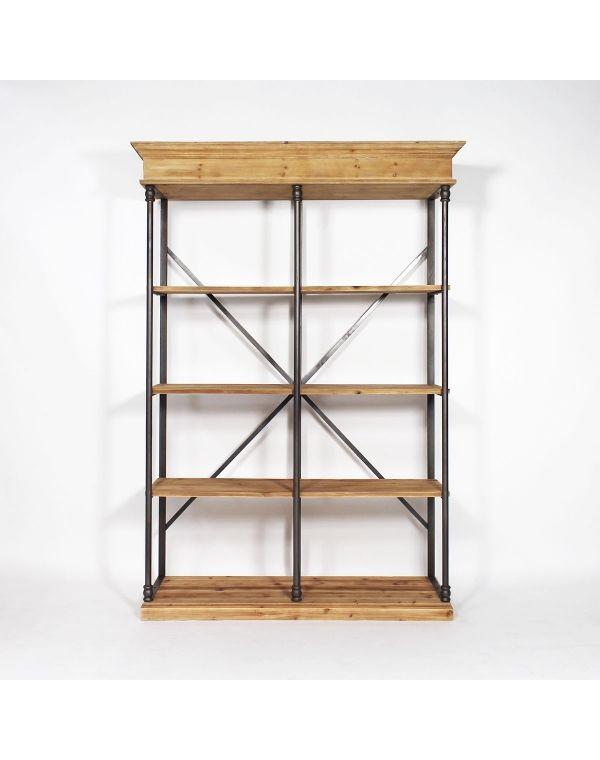Etagère industrielle bois et métal | Originaux, Bois et Meubles