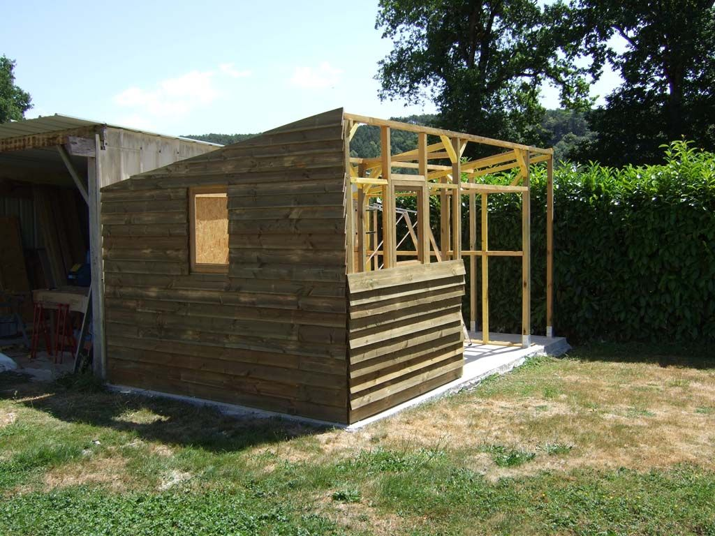 Bardage cabane de jardin pinterest jardins cabane jardin et abri de jardin - Cabane de jardin design ...