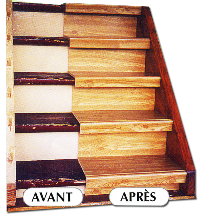 R novation escalier bois comment r nover son escalier for Renovation cage escalier maison
