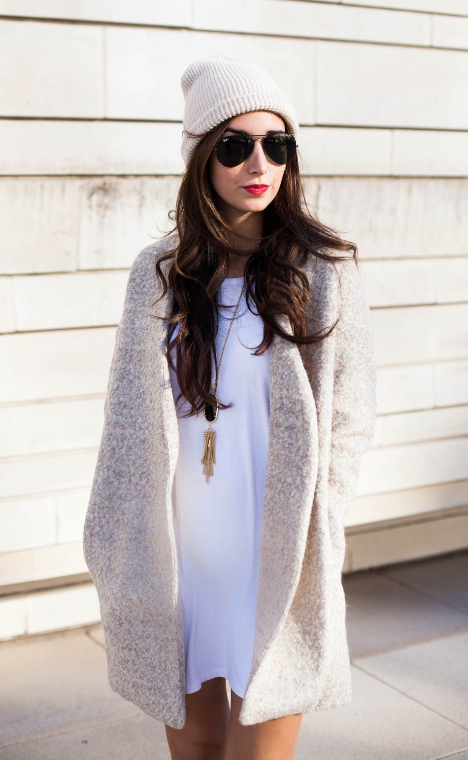 want this sweater. and her hair. Fashion Blogger | The Darling Detail