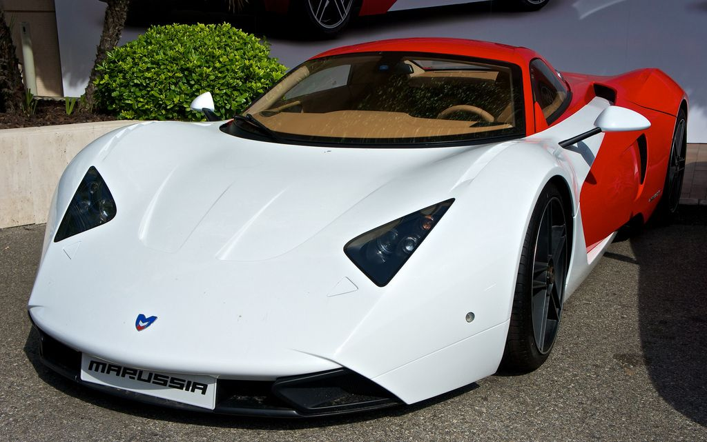 Nice Super Car · Marussia B1  Russian Supercar