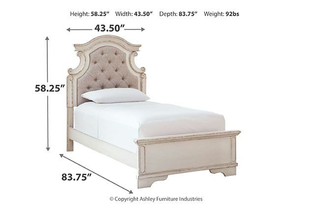 Best Realyn Queen Upholstered Panel Bed Ashley Furniture Homestore Upholstered Panel Bed Queen 640 x 480