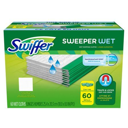 Swiffer Sweeper Wet Mopping Refills 60 Refills