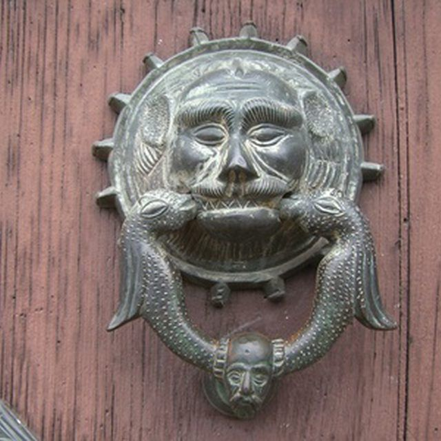 Attractive A Custom Door Knocker Is A Simple Project When Casting Aluminum With  Plaster Molds.