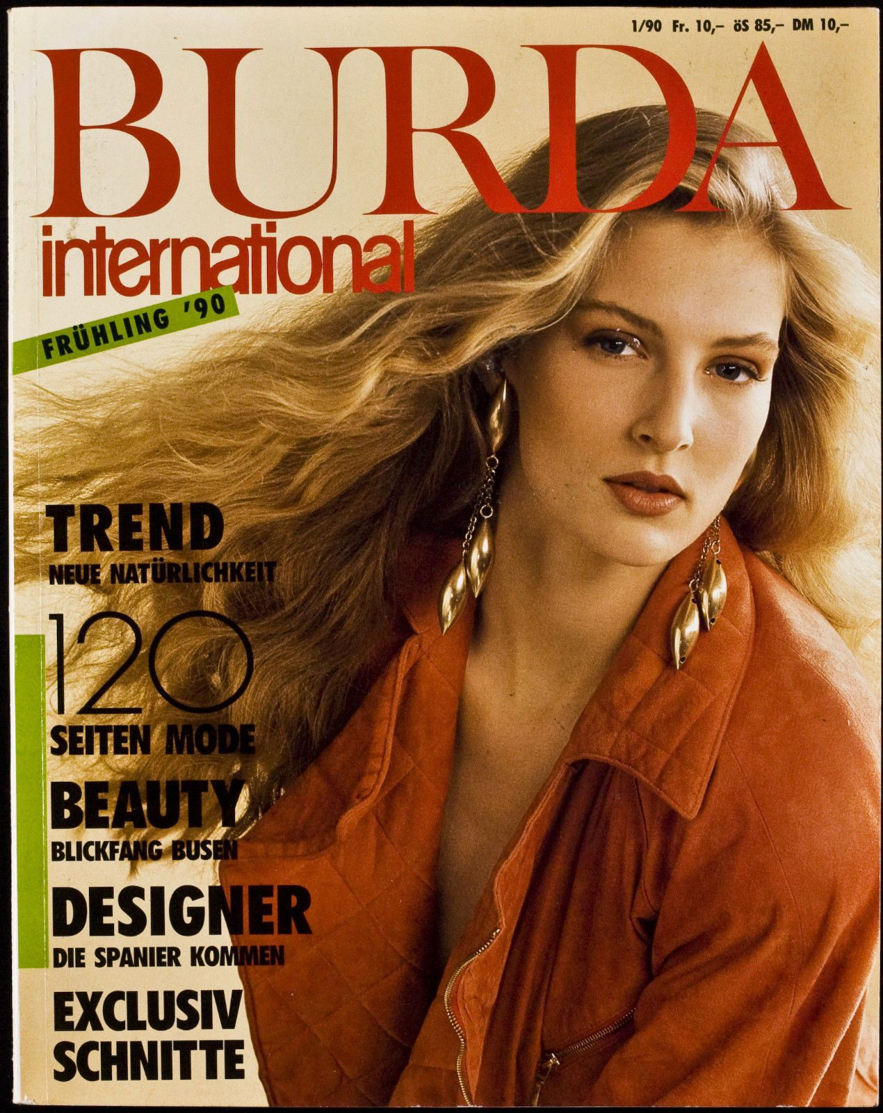 Burda International F 1/90 in Libros, revistas y cómics, Revistas, Moda y estilo de vida | eBay