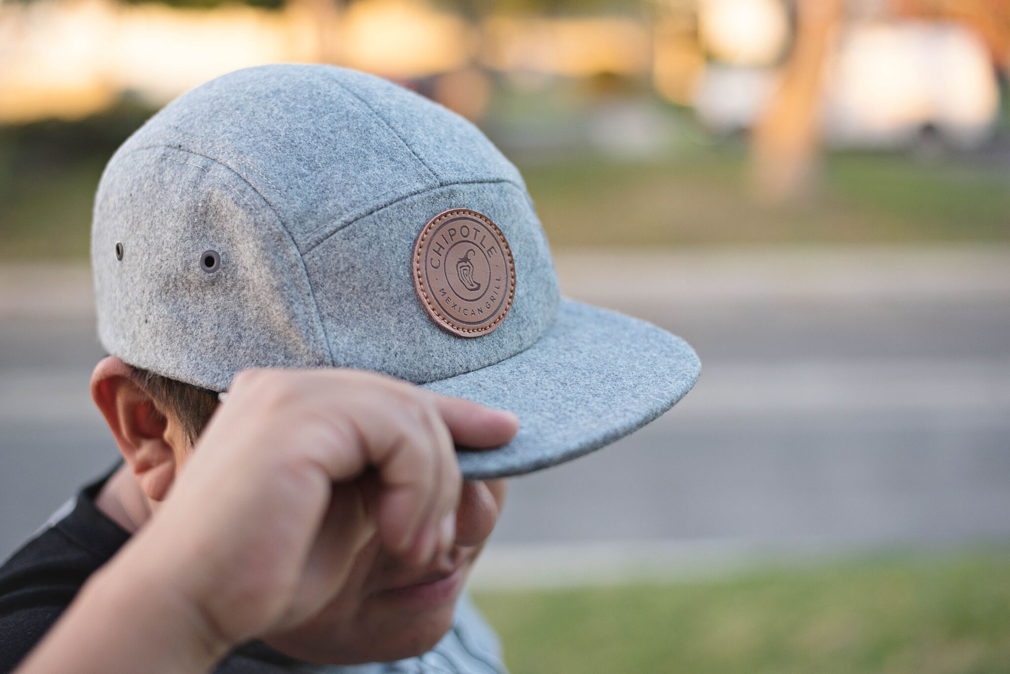 337b60985e1a8f A one-piece minimum patch hat that can be produced in 3 business days, the  Cranston camper hat brings style back. This one-size-fits-most 5-panel ...