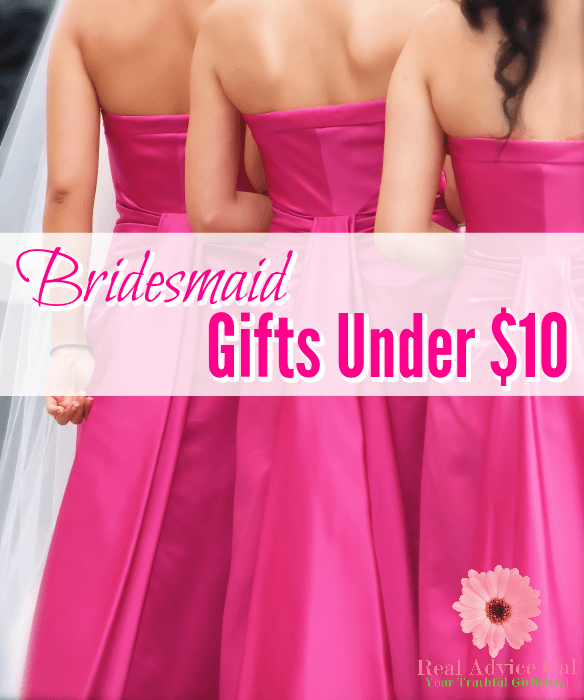 Cheap Bridesmaid Gifts Under 10 | Wedding | Pinterest | Engagement ...